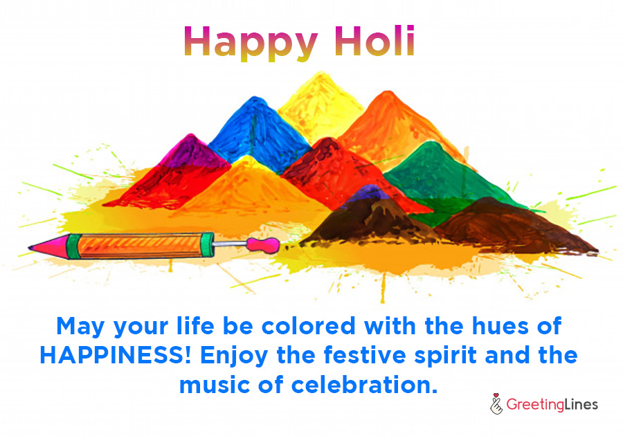happy holi wish image