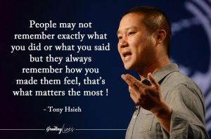Tony Hsieh Quote